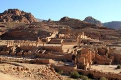 утес petra Иордана города потерянный Стоковая Фотография RF