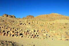 утес petra Иордана города потерянный Стоковое Фото