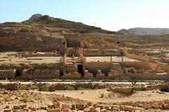 утес petra Иордана города потерянный Стоковое Изображение RF