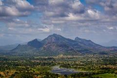 Утес Sigiriya Стоковые Изображения RF