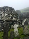 Утес skellig Skellig Майкл, Ирландия стоковые изображения