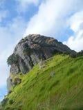 Утес St Paul, Whangaroa, Новая Зеландия Стоковые Изображения RF