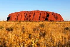 Утес Uluru Ayers, северные территории, Австралия стоковое изображение rf