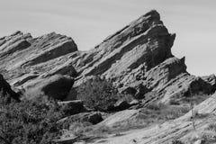Утес Vasquez в Калифорнии Стоковое Изображение RF