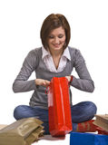 утеха подарков Стоковое фото RF
