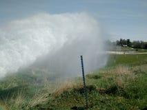Утечка воды стоковое изображение rf