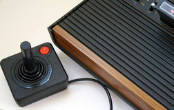 утешьте видео игры ретро стоковое изображение