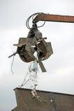 утиль металла moving Стоковая Фотография RF