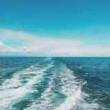 Утихомиривая море стоковое фото rf