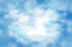 утихомиривая облака иллюстрация вектора