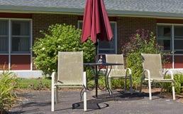 Утка на таблице Стоковая Фотография RF