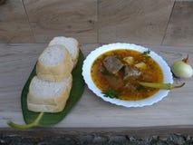 Утка супа Питание Стоковые Изображения RF