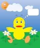 утка цыпленока Стоковые Фото