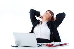 Утомленный менеджер Стоковое Изображение RF