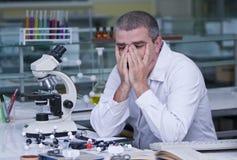 утомлянный исследователь Стоковое фото RF