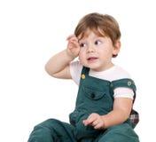 утомлянный мальчик Стоковое Изображение RF