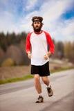утомлянный jogger Стоковое фото RF