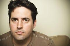 Утомленные взгляды человека Стоковая Фотография RF