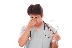 Утомленный доктор Стоковые Фото
