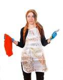 утомлянная домохозяйка Стоковая Фотография RF