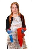 утомлянная домохозяйка Стоковое Фото