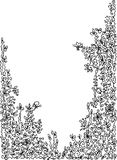 уточненная виньетка Стоковое Изображение