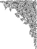 уточненная виньетка Стоковые Изображения