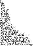 уточненная виньетка xiii Стоковое Изображение RF