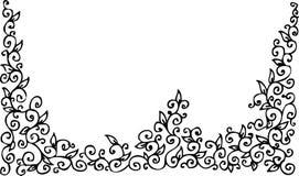 уточненная виньетка xlii Стоковое Изображение