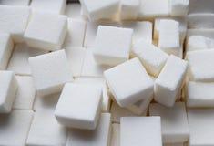 Уточненная предпосылка кускового сахара Стоковое Изображение