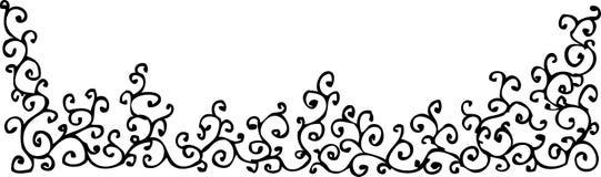 уточненное xlvi виньетки Стоковое Изображение RF