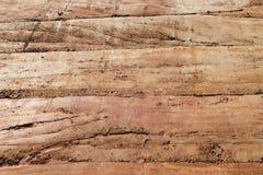 Утрамбованная текстура материала стены земли Стоковые Изображения
