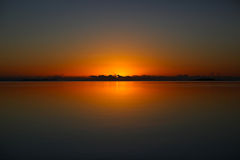 утра восход солнца все еще Стоковые Изображения RF