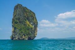 Утреннее время в острове Таиланда Стоковые Фото