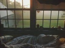 утро воскресенье Стоковая Фотография