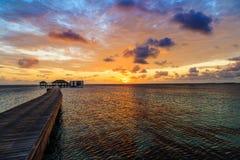 Утро, восход солнца Стоковая Фотография