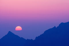 Утро в высоком Tatras, Словакии Стоковое Изображение