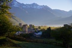 Утро в горах Стоковое Изображение RF