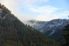 Утро в горах Стоковые Изображения RF