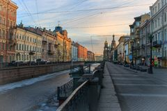 Утро в городе Стоковые Фото