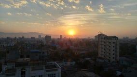 Утро в Мандалае Стоковые Изображения RF