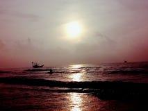 Утро в море Стоковое фото RF