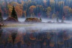 Утро в октябре Стоковая Фотография RF