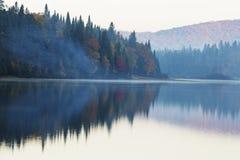 Утро в октябре Стоковые Изображения