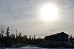 Утро в севере Стоковое Изображение RF