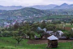 Утро в сельской местности Стоковое фото RF