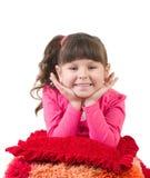 утро девушки счастливое маленькое Стоковые Фотографии RF