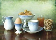 утро завтрака континентальное Стоковые Фотографии RF