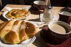утро завтрака Стоковые Изображения