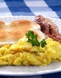 утро завтрака стоковое фото